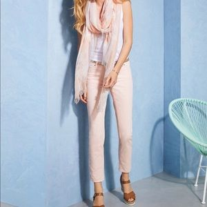 Pure Collection Cropped Blush Jeans